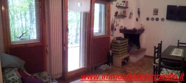 SOLO AFFITTO Terminillo TOP BIANCO Appartamento Bi-Locale In Centro Con Camino Balcone Posto Auto