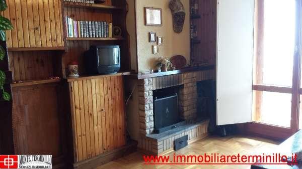 SOLO AFFITTO Terminillo IL COLLE Appartamento Tri-Locale Panoramico Balcone Camino Garage