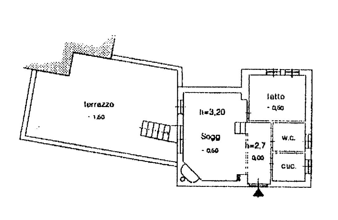 Terminillo in centro bilocale con camino e terrazzo