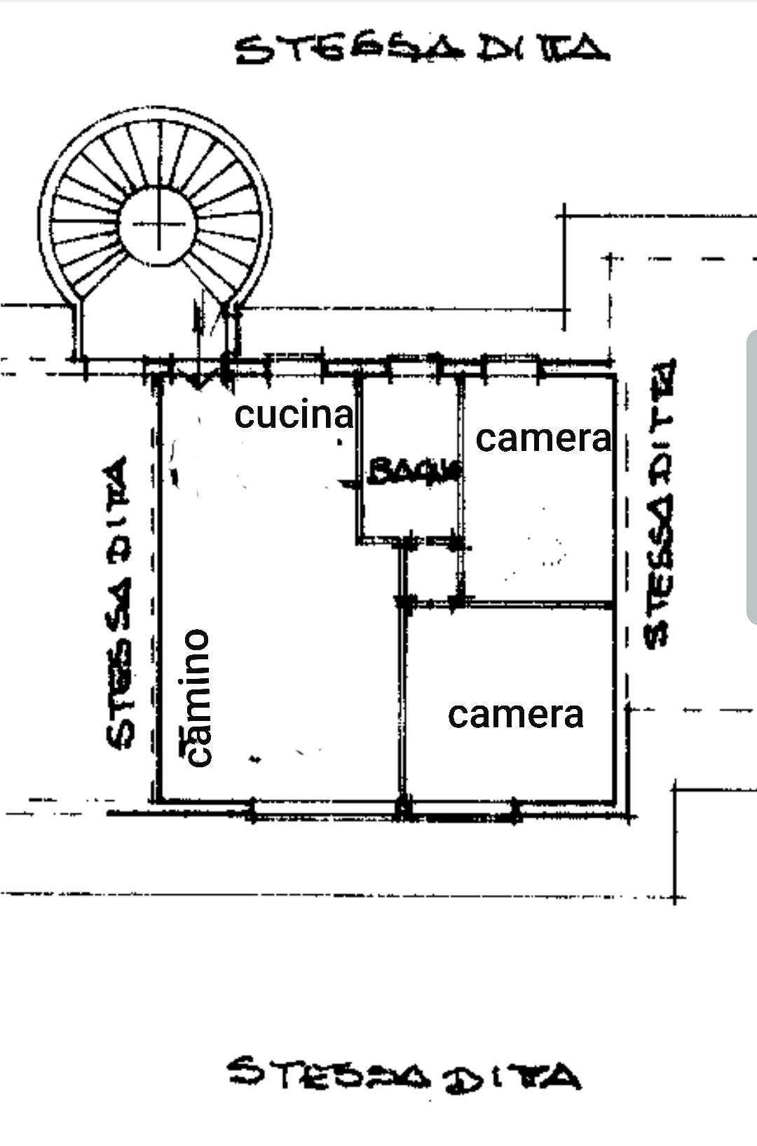 Terminillo centro trilocale ristrutturato termoautonomo caminetto e panorama